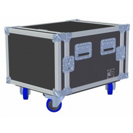 Industrial Rack 8u - 550mm body, with base castors