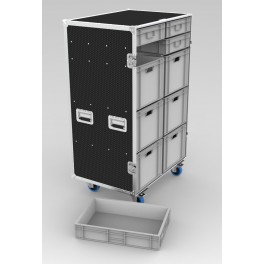 Crate Rack Case - Style H