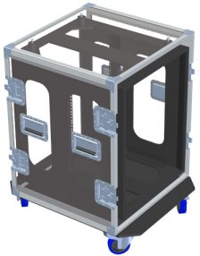 Shock Mount Rack Case