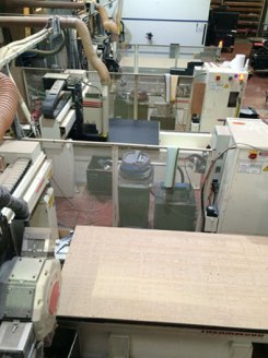 Four CNC machines