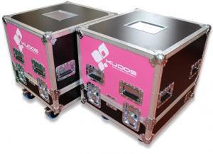 Bespoke Branding on flight cases