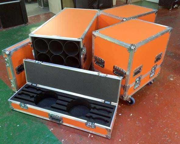 orange flight case