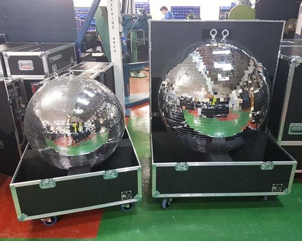 Disco ball flight case