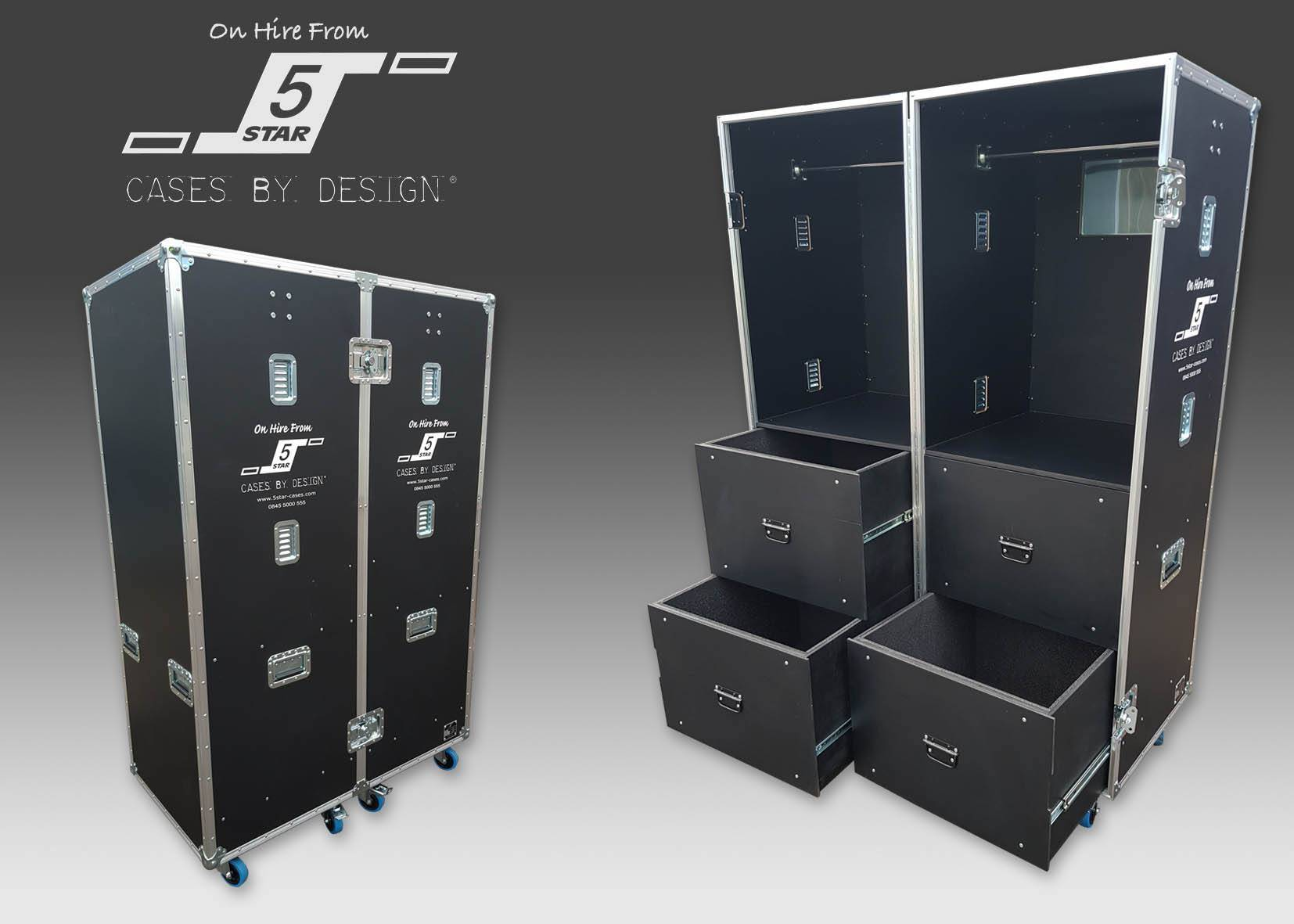 Wardrobe Hire Flight Case