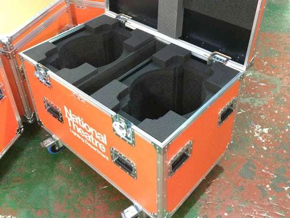 Moving Head Fixture Trunk
