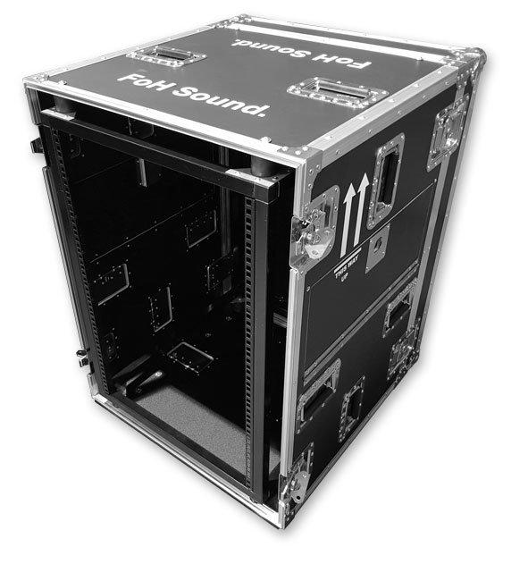 Steel Frame Shock Mount flight case